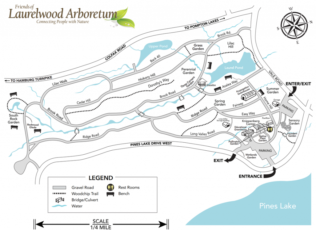 Laurelwood Map May 2020